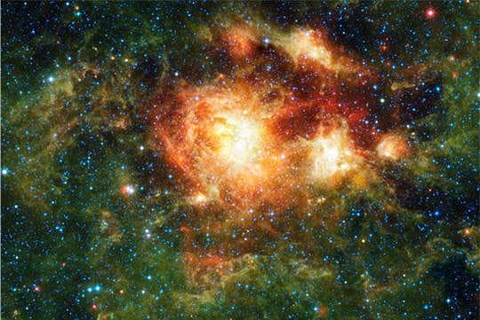 Formation d'étoiles