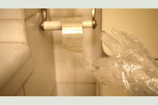 rouleau de papier toilettes