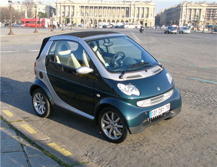 smart fortwo historiquement la premi re micro citadine les voitures qui d cotent le moins. Black Bedroom Furniture Sets. Home Design Ideas