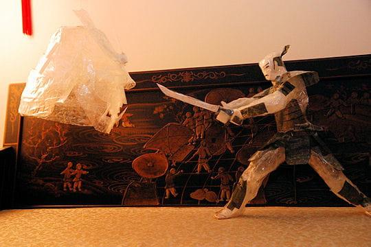 le samouraï contre l'esprit