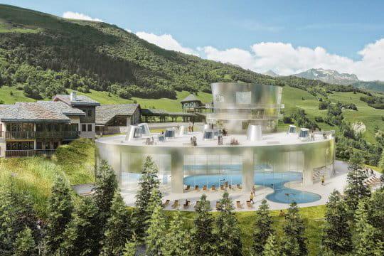 Un spa la montagne stades mus es parcs th mes for Valmorel piscine spa