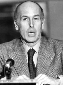 valery giscard-d'estaing.