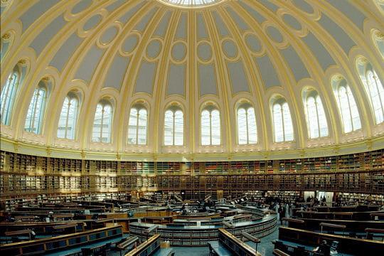 La bibliothèque du British Museum