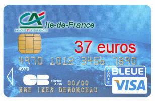 19e ex aequo cr dit agricole idf avec une visa classic - Plafond de retrait carte visa banque populaire ...