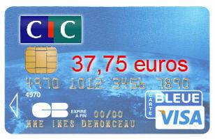 21e ex aequo cic avec une visa classic 37 75 euros cartes bancaires les banques moins - Plafond carte maestro credit agricole ...