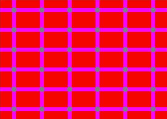 Illusion Optique Couleur changement de couleurs intempestif - illusions d'optique - l