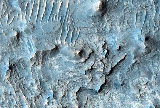 Canyon sur Mars