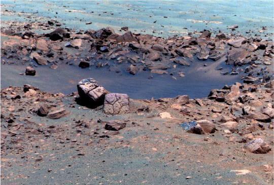 Chocolate Hills Mars