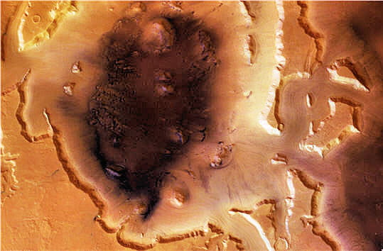 Glaces Mars