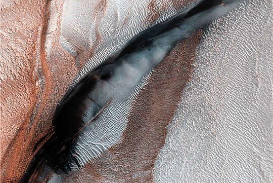Calotte polaire Mars