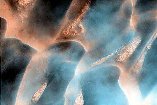 Vents Mars