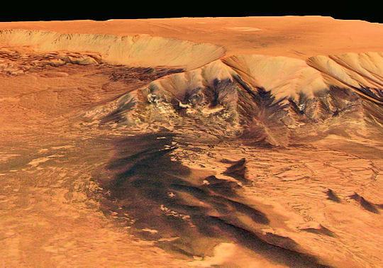 Région Melas Chasma