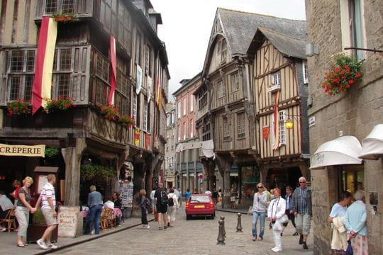 N Des Rues Du Centre Ville De Dinan