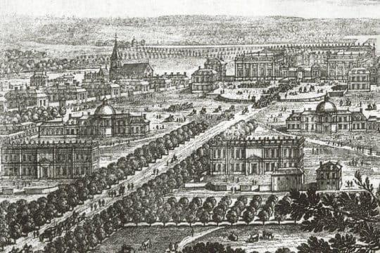 Versailles devient une ville versailles et ses jardins for Autour de versailles