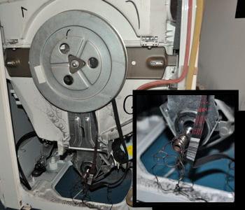 machine laver sans courroie poign e fenetre porcelaine. Black Bedroom Furniture Sets. Home Design Ideas