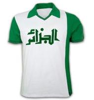 maillot de l'algérie en1982.
