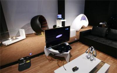la maison du futur de samsung a quoi pourrait ressembler votre int rieur dans quelques ann es. Black Bedroom Furniture Sets. Home Design Ideas