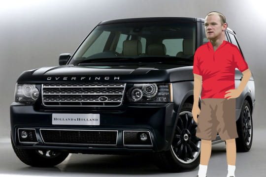 Wayne Rooney Range Rover Overfinch