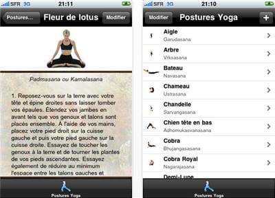 pour pratiquer le yoga chez soi 10 applications iphone pour s 39 amuser et s 39 occuper l 39 t. Black Bedroom Furniture Sets. Home Design Ideas