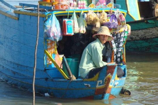 Commerce flottant