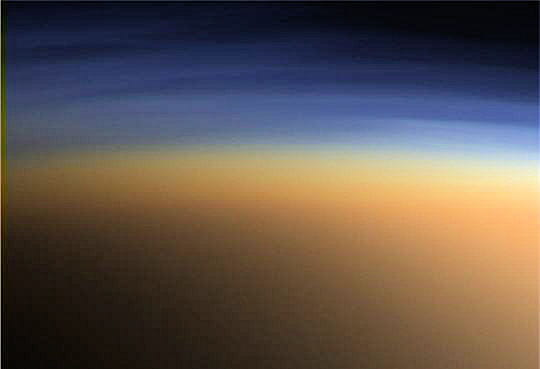 Atmosphère Titan