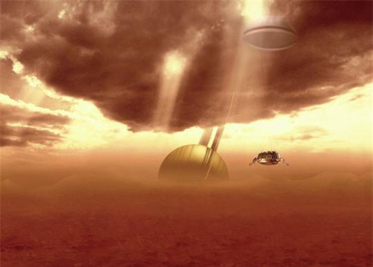 Nuages Titan