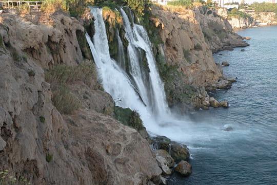 Les chutes de Duden, Turquie