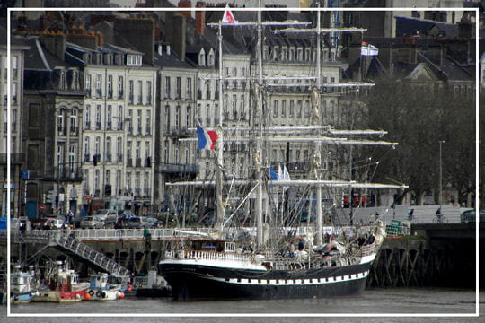 Nantes pour port d'attache
