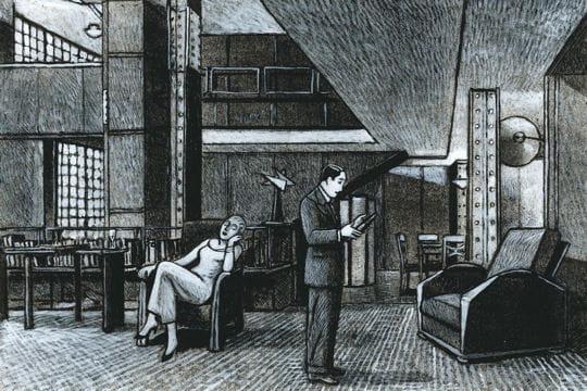 Jean claude g tting la maison de verre archi et bd for A la maison de verre