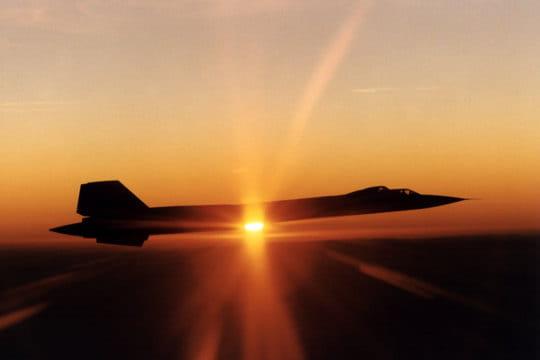 SR-71B Blackbird en 1995