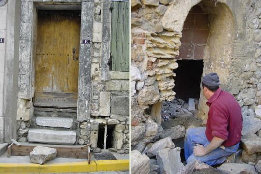Restauration l 39 ext rieur la restauration d 39 une vieille for Exterieur vieille maison