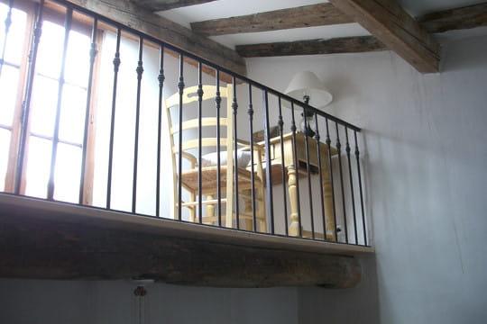 La mezzanine la restauration d 39 une vieille maison en - La maison de la mezzanine ...