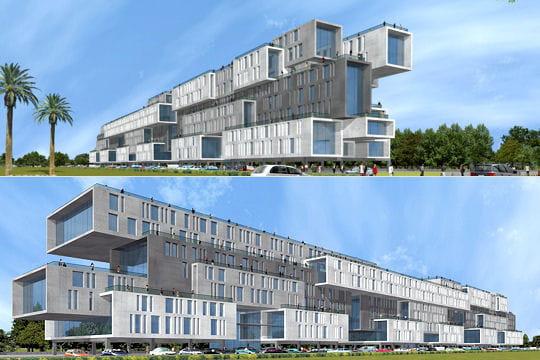 les projets fous de l architecte sanjay puri nuage ciel d 39 azur. Black Bedroom Furniture Sets. Home Design Ideas