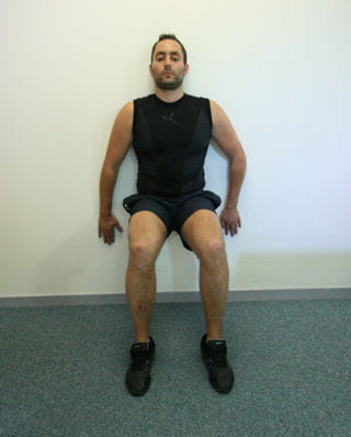 Cuisses la chaise - La chaise exercice musculation ...