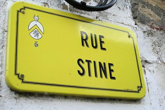 une rue de vélo