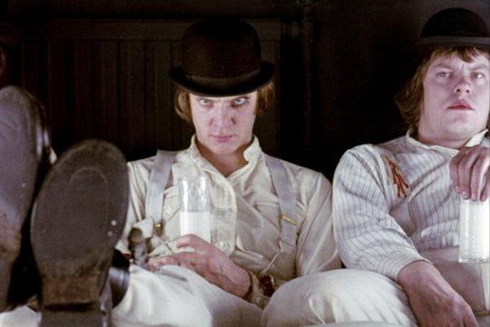 Exposition Stanley Kubrick (Cinémathèque française) Malcolm-mcdowell-orange-mecanique-671497