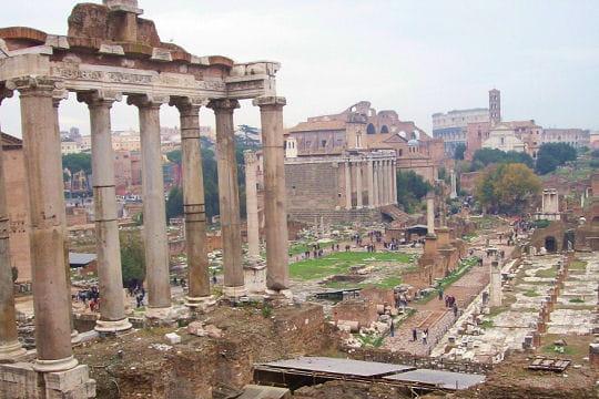histoire forum romain