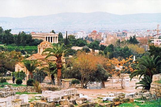 agora romaine en grèce