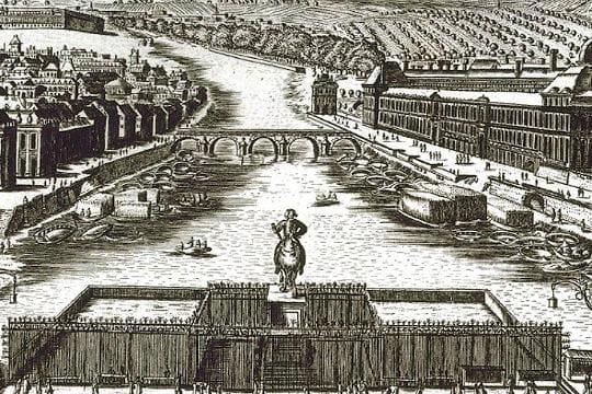pont neuf et henri iv