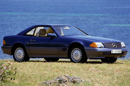 mercedes sl serie w129 les voitures qui ont marqu les ann es 90 linternaute
