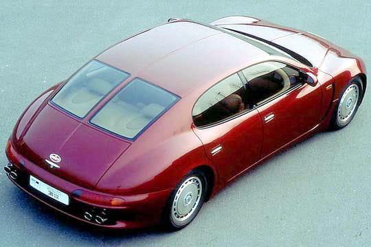 bugatti eb112 les voitures qui ont marqu les ann es 90 linternaute. Black Bedroom Furniture Sets. Home Design Ideas