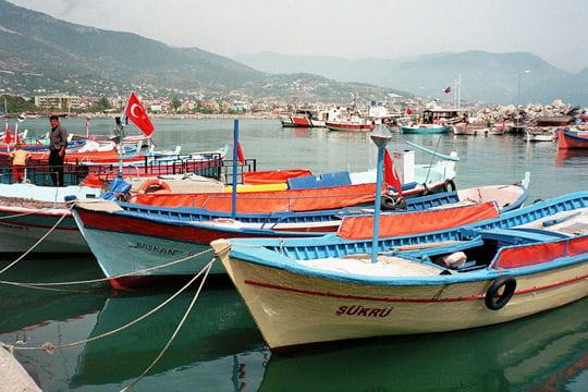 Pêcheur en Turquie
