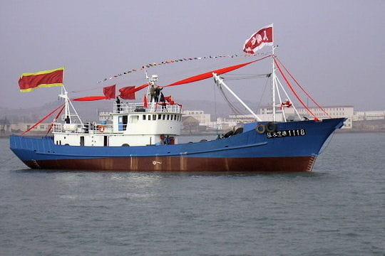 Pêche en mer de Chine
