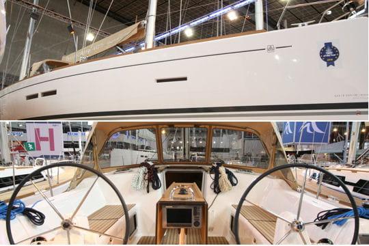 Dufour 405 grand large les nouveaut s 2010 du salon nautique de paris linternaute - Nouveautes salon nautique ...