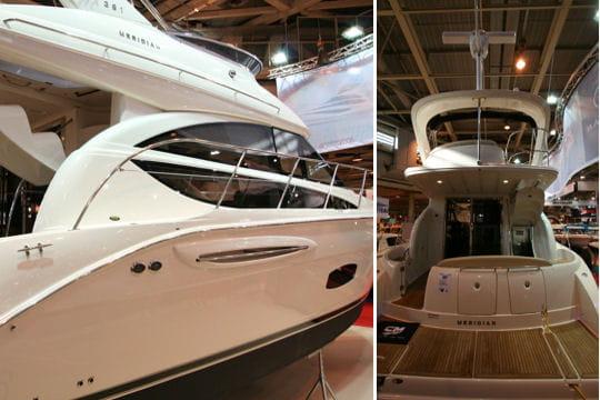 Meridian 391 sedan les nouveaut s 2010 du salon nautique de paris linternaute - Nouveautes salon nautique ...