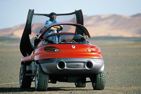 racoon. 1993. Ce concept-car imaginé par Renault avait la particularité
