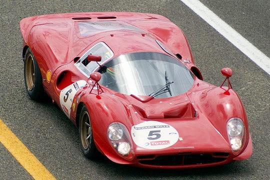 Ferrari 330 p3 les voitures de course de collection - Photo voiture de course ferrari ...