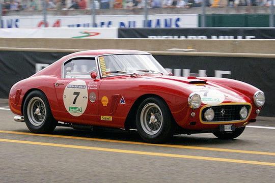 Ferrari 250 gt berlinetta les voitures de course de - Photo voiture de course ferrari ...
