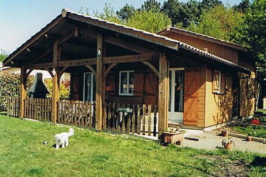 le chalet en bois de bernard les maisons en bois des lecteurs linternaute. Black Bedroom Furniture Sets. Home Design Ideas