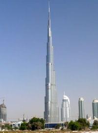 Plus grande tour du monde burj khalifa dubai for Les plus grandes tours du monde